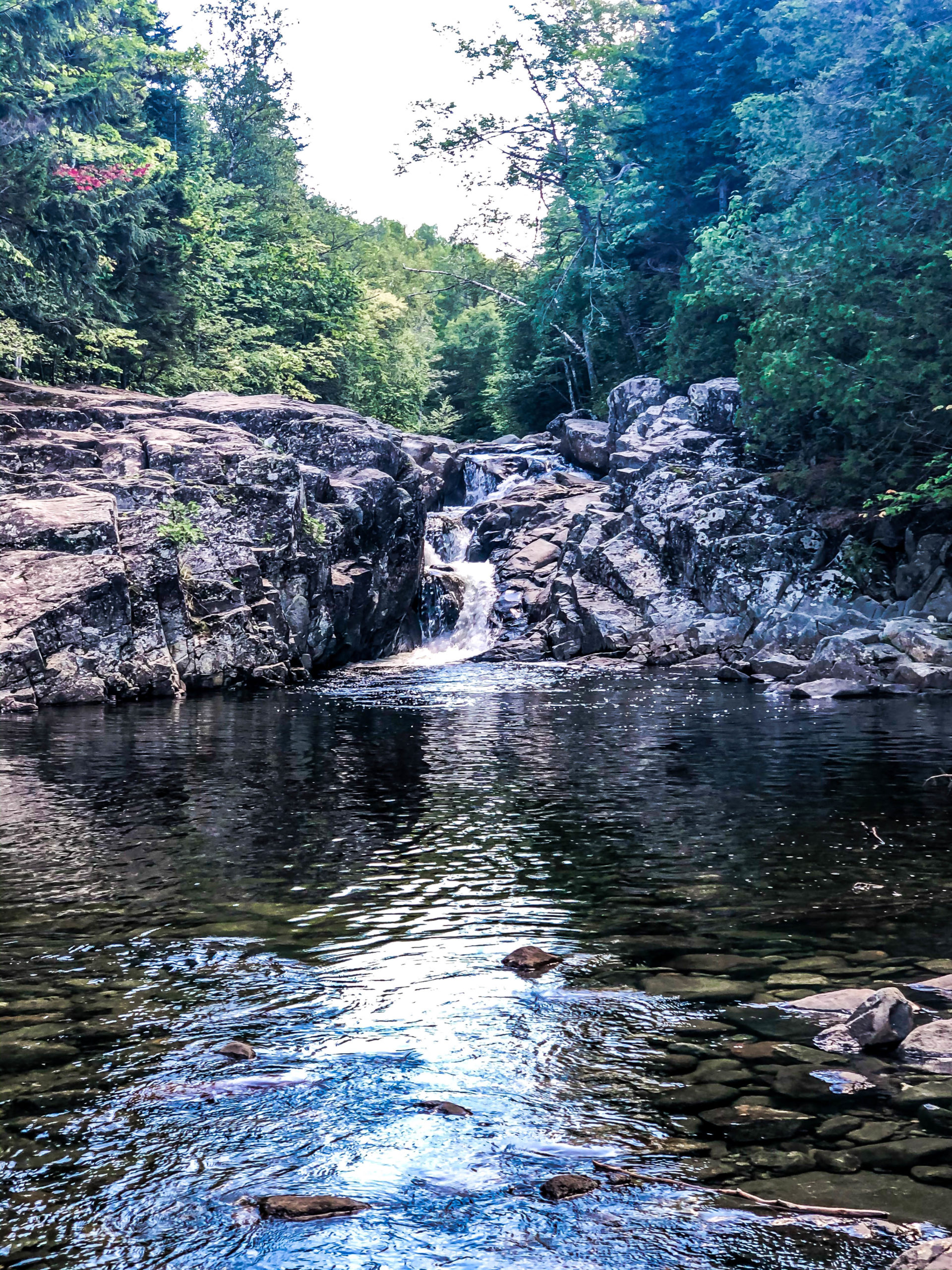 West Mountain Falls